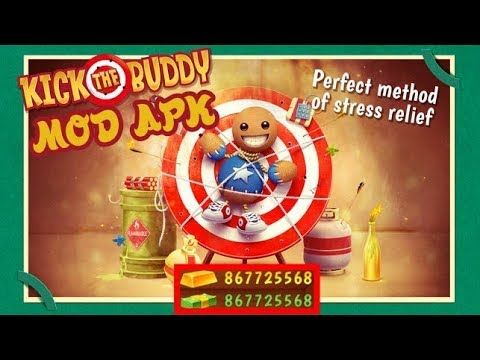 kick the buddy hacked apk