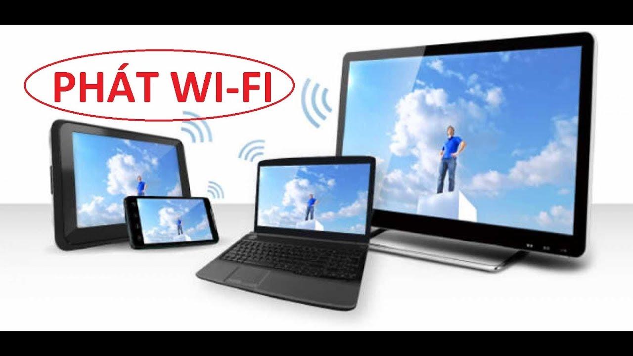 cach phát wifi từ máy tính laptop win 7
