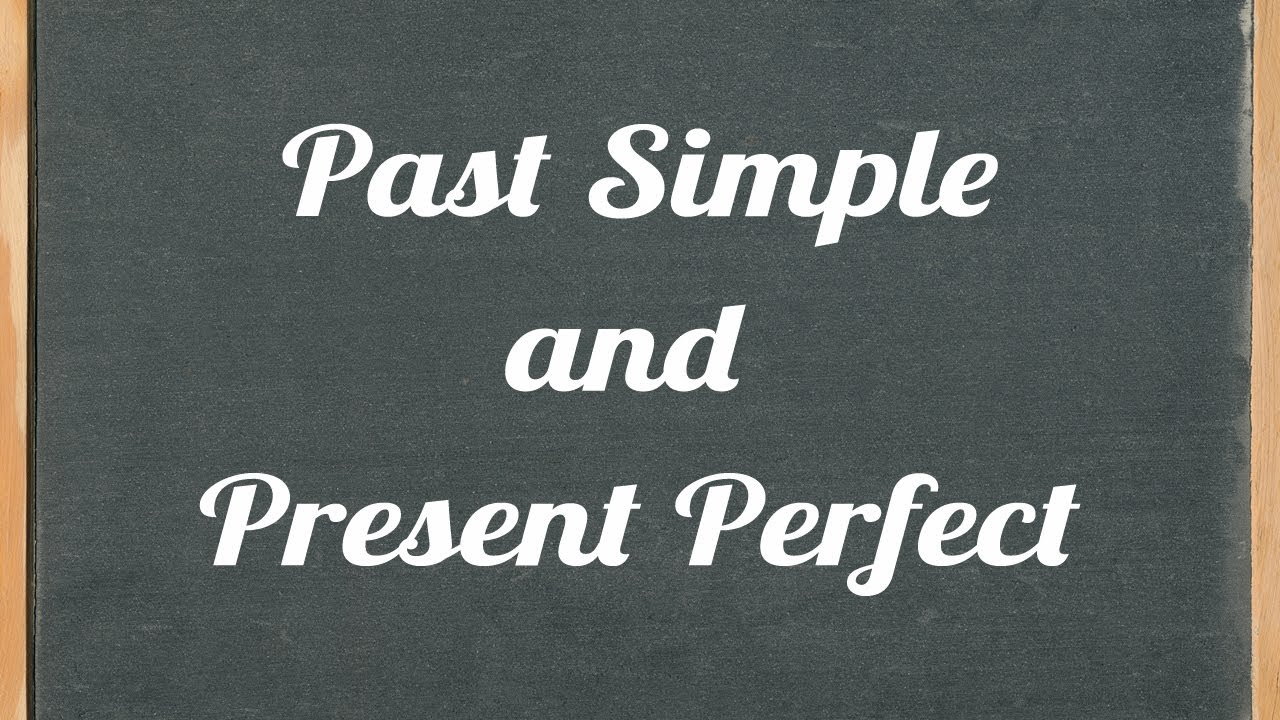 Past Simple and Present Perfect - English grammar tutorial ...