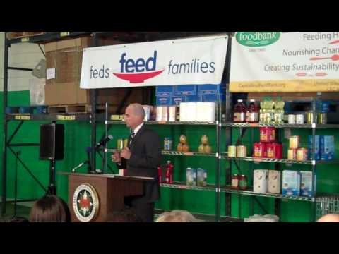 "NNSA Participates in 2010 ""Feds Feed Families"" Kickoff"