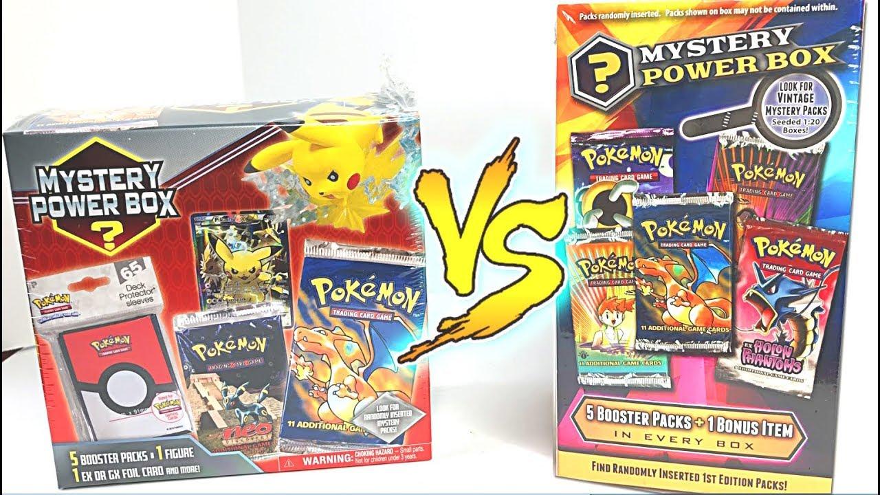 IMPRESSIVE NEW POKEMON MYSTERY POWER BOXES RELEASED ... |Pokemon Mystery Box