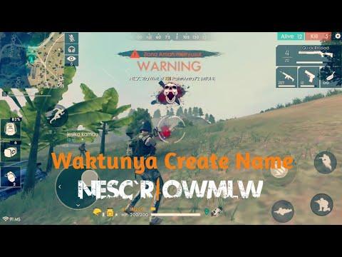 PERESMIAN NEW MEMBER NESC   Wajib CN   Free Fire Battleground