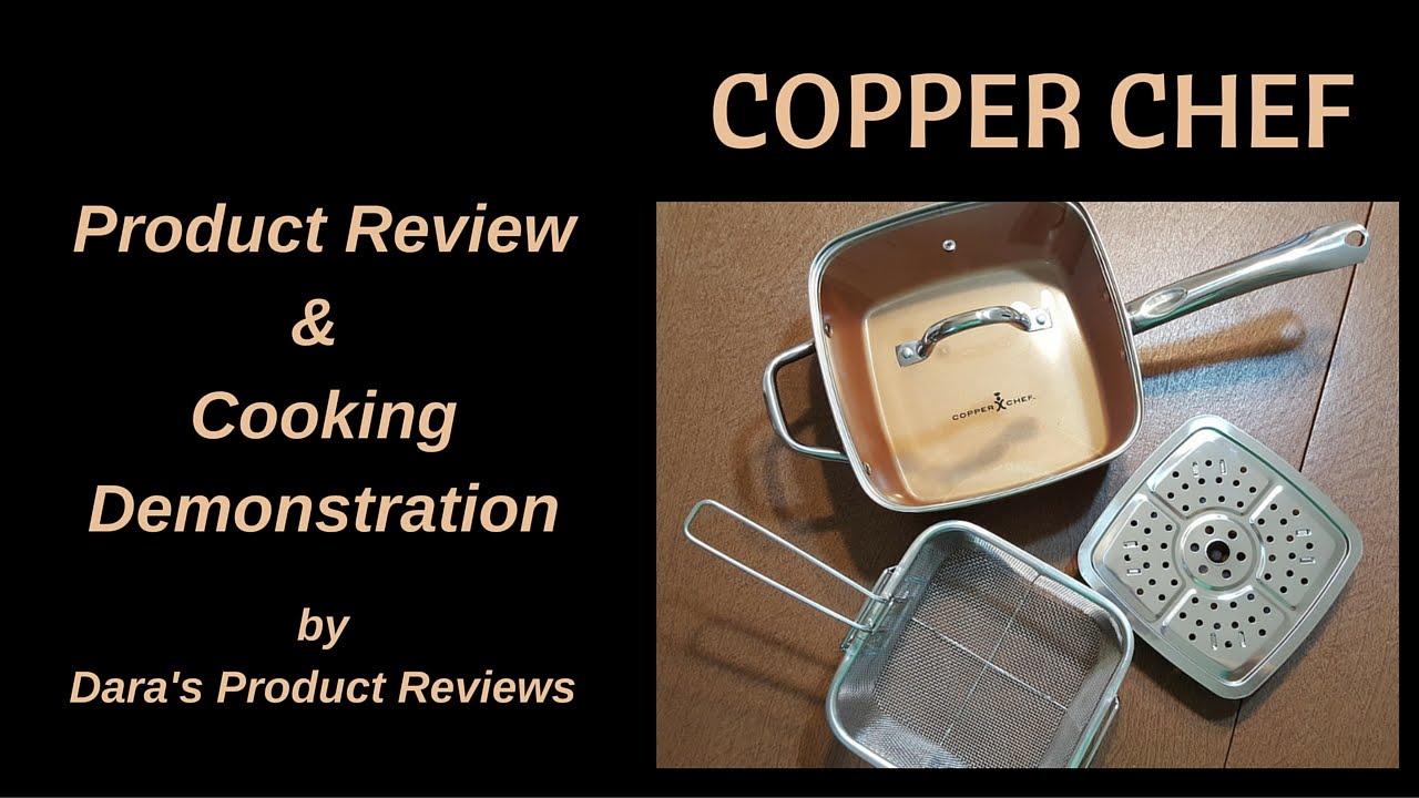 Copper Chef 9 5 Square Fry