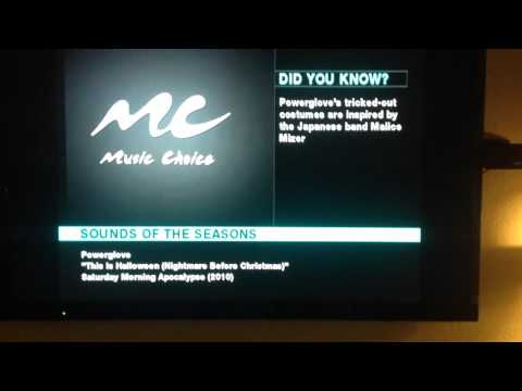 2015 Music Choice sounds of the seasons to holiday music