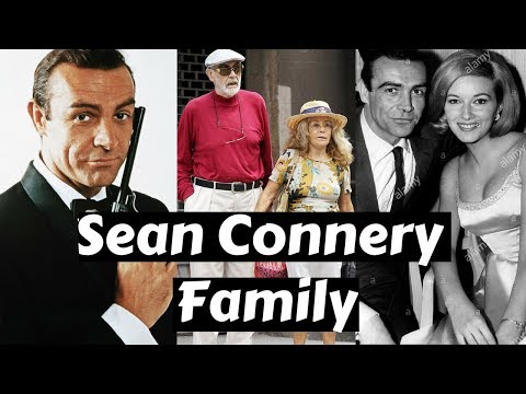 Actor Sean Connery Family Photos with Wife Micheline and Diane Cilento, Son,Brother,Parents,Siblings