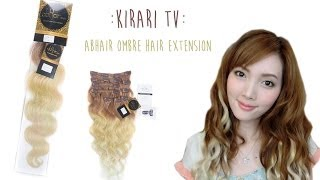 Kirari TV: Ombre Hair Extension by abhair - review Thumbnail