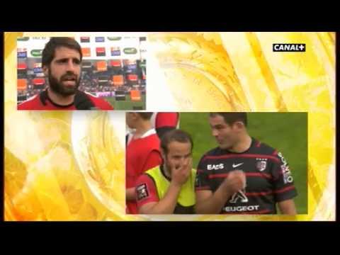 Toulouse vs Toulon ITW Sébastien Tillous Borde