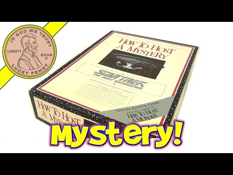 Star Trek: The Next Generation - How To Host A Mystery Party Game