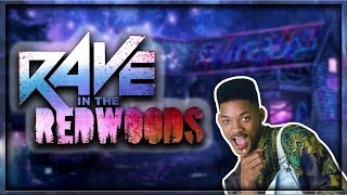 WILL SMITH IN RAVE IN THE REDWOODS!? 'NEW' RAVE IN THE REDWOODS CHARACTER! (Infinite Warfare DLC 1)