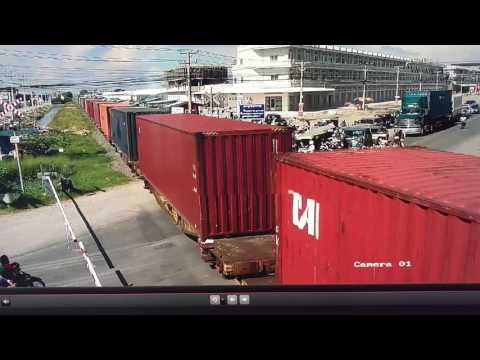 Freight Train arrival Dry Port today
