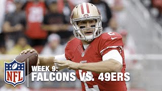 Blaine Gabbert Finds Garrett Celek for a Goal Line TD! | Falcons vs. 49ers | NFL