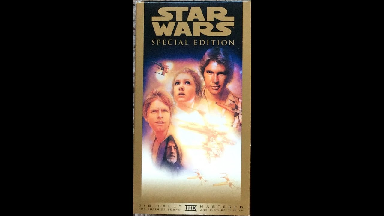 opening to star warsspecial edition 1997 vhs youtube