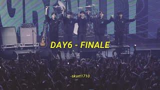 DAY6 - Finale aesthetic lyrics (rom/eng trans)