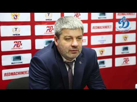Пресс-конференция после первого матча 14 финала Торпедо У-К - Динамо СПб