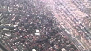 تصوير الاقلاع لطائرة الخطوط التركية اسطنبول-انطاليا