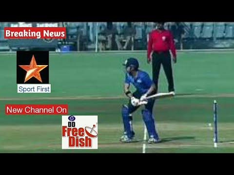 Star sport First New Channel on DD FREE DISH Soon