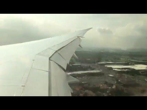 O.R Tambo Johannesburg Landing Time Lapse
