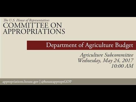 Hearing: USDA Office Of The Secretary Budget (EventID=105997)