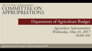 Hearing: USDA Office of the Secretary Budget (EventID=105997)
