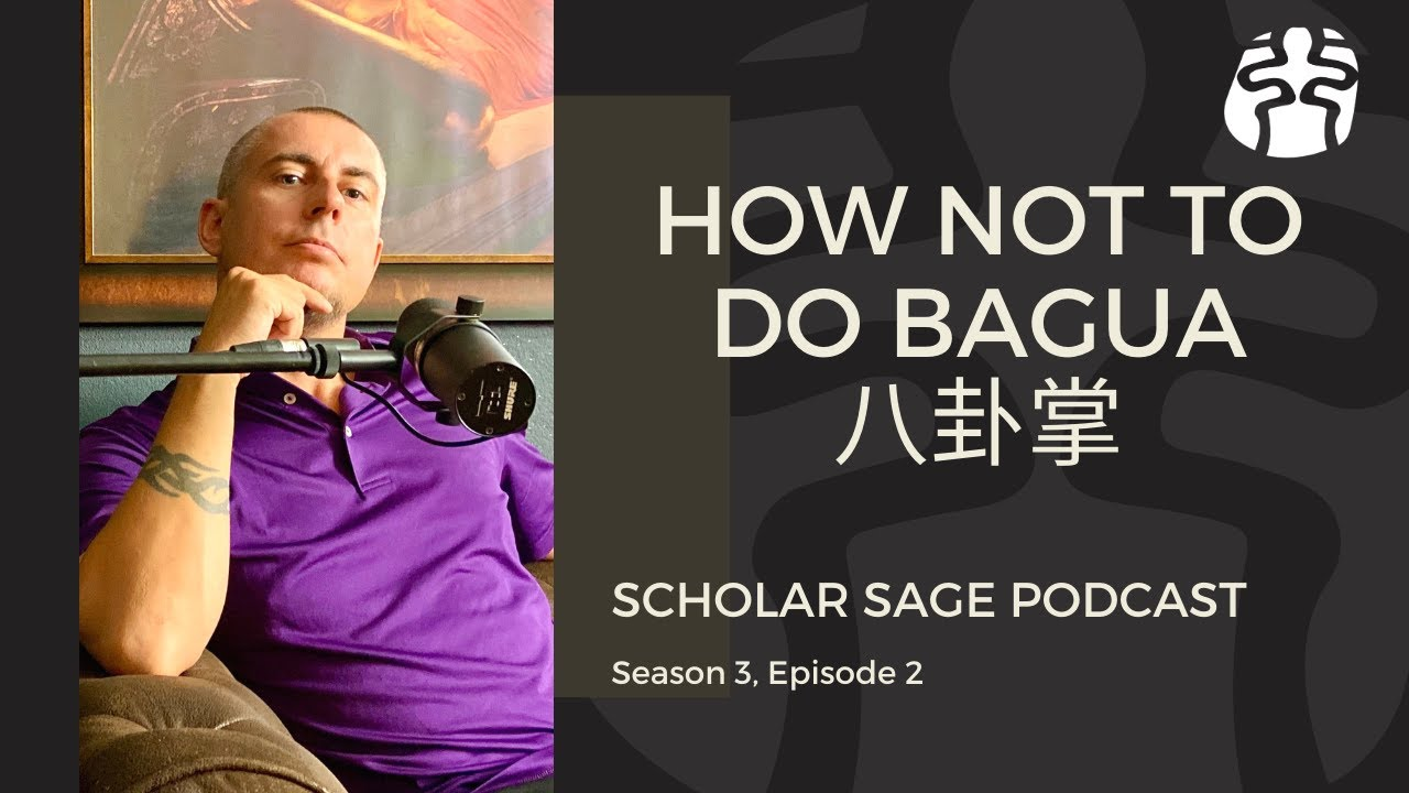 How Not To Do Bagua - S3 E2 - Scholar Sage Podcast