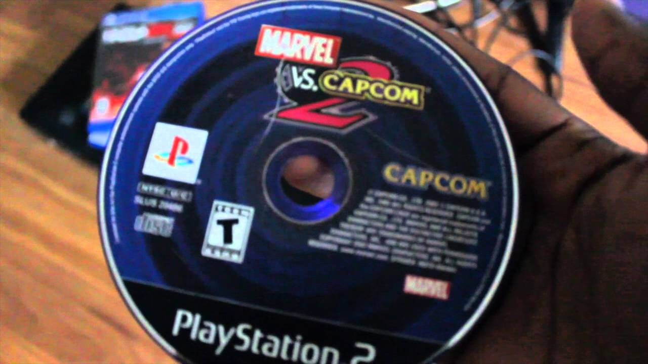 How to play marvel vs capcom 2 on ps4 with playstation 2 cd youtube.