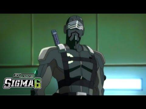 'Snake Eyes Vs. Storm Shadow' Official Clip | G.I. Joe Sigma 6 Season 1