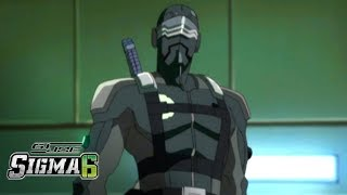 'Snake Eyes vs. Storm Shadow' Official Clip | G.I. Joe Sigma 6
