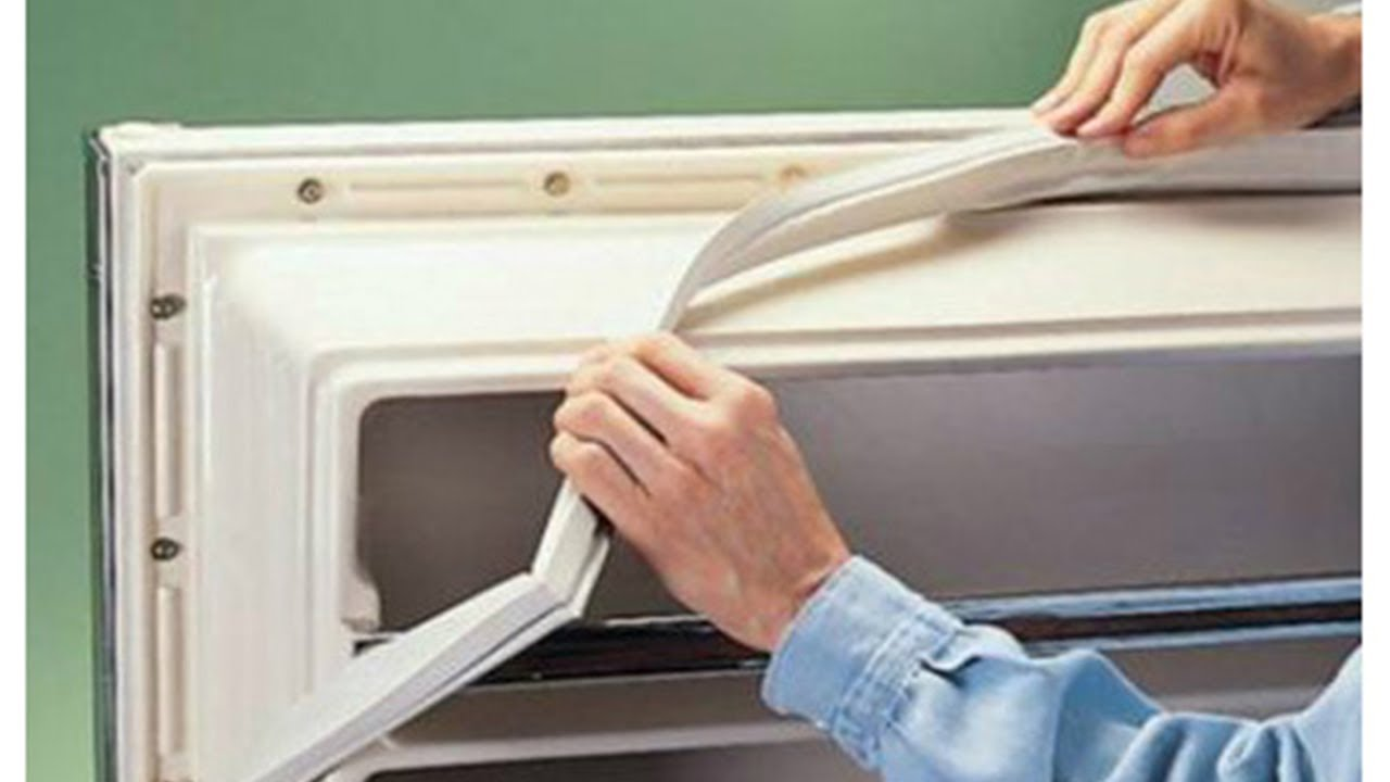 Резинки на двери холодильника