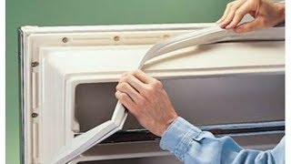 Замена уплотнителя на двери холодильника Стинол