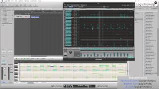 Logic Pro 9. Программирование барабанов. Урок 6 [Logic Pro Help]