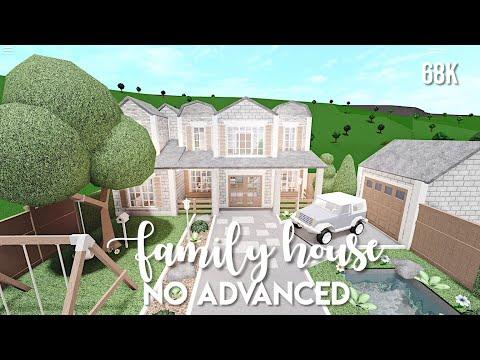 no-advanced-placement-family-house-bloxburg-speedbuild