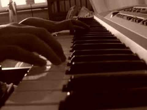 the used blue and yellow piano youtube. Black Bedroom Furniture Sets. Home Design Ideas