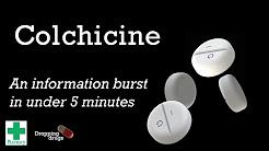 Colchicine information burst