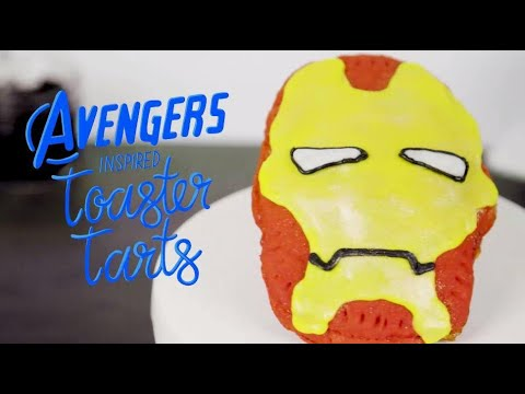 Avengers-Inspired Toaster Tarts | Marvel Studios' Avengers: Infinity War
