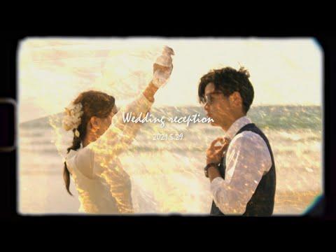 【結婚式 オープニングムービー】Takumi & Asami CINEMATC WEDDING FILM