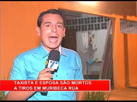[RONDA GERAL] Taxista e esposa são mortos a tiros em Muribeca Rua