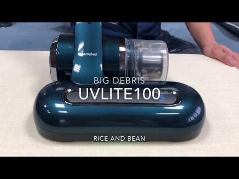 dyson V6 Mattress Vacuum VS Mamibot UVLITE100 UV Vacuum Cleaner performance test
