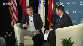 Ted Cruz talks about VA issues at Town Hall about veterans in McKinney