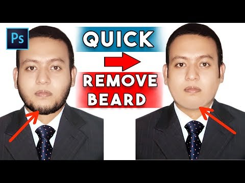 How To Remove Facial Hair In Photoshop Cc/cs6