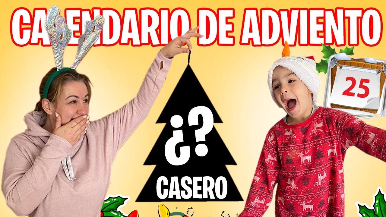 IDEAS FÁCILES para hacer EN CASA ¡CALENDARIO DE ADVIENTO PRECIOSO!