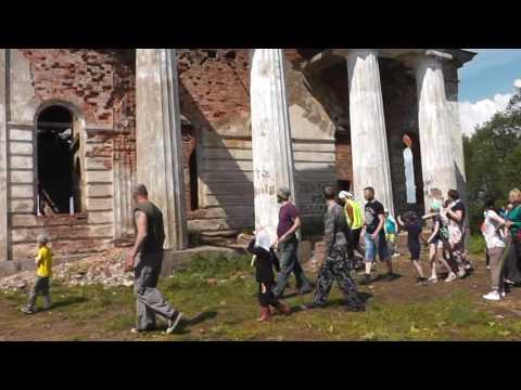 Фильм поход на городок к Введенской церкви с Бронница