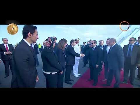 الأخبار - توافد القادة والزعماء المشاركين في القمة العربية الأوروبية بشرم الشيخ