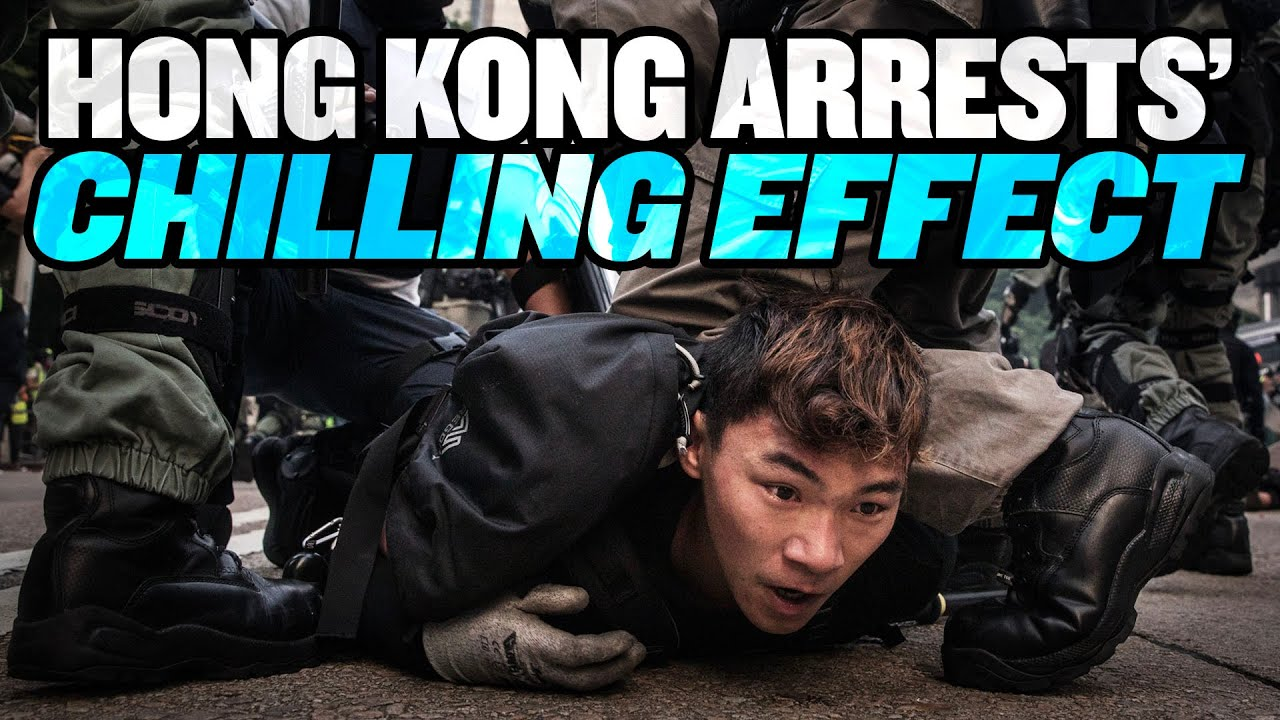 Mass Arrests Have Chilling Effect in Hong Kong