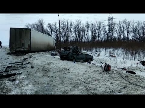 В смертельном ДТП в Михайловке погибли пятеро человек
