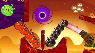 Angry Birds Collection Hacked 3 - FULL WALKTHROUGH SHOOT THE PIGGIES WITH BOMB BIRDS!