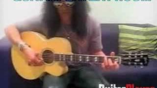 Slash Plays Paradise City, Acoustic