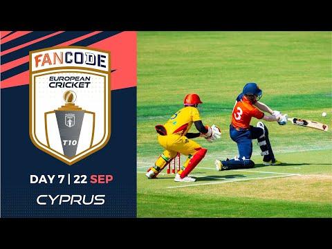 🔴 FanCode European Cricket T10 Cyprus,  Limassol | Day 7 T10 Live Cricket