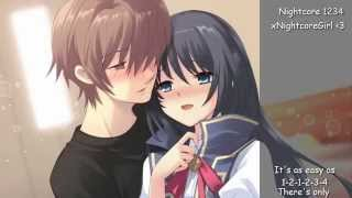 ♫ Nightcore ♫ - 1,2,3,4 with lyrics ~request (plain white t