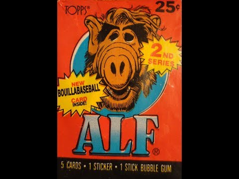 What's Inside - Alf Series 2 Trading Cards (1988, Topps)