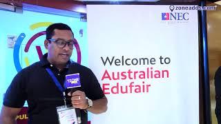 Satish Reddy  - Neptune Educational Consultants (NEC)    NEC Edu Fair 2019    zoneadds.com